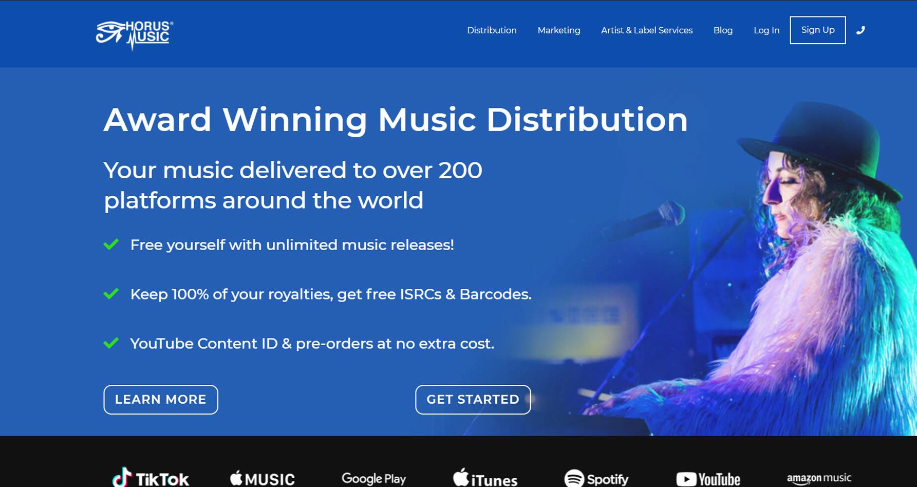 Bespoke ERP software for digital music distribution